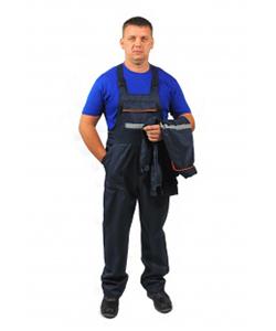Костюм рабочий мужской (полукомбинезон+куртка)