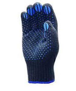 Перчатки полушерстяные с ПВХ «5-нитей»