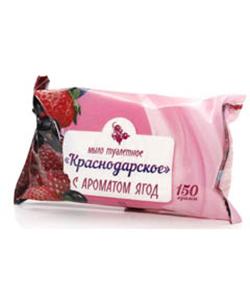Мыло туалетное «Краснодарское» 100 гр. в обертке флоу-пак