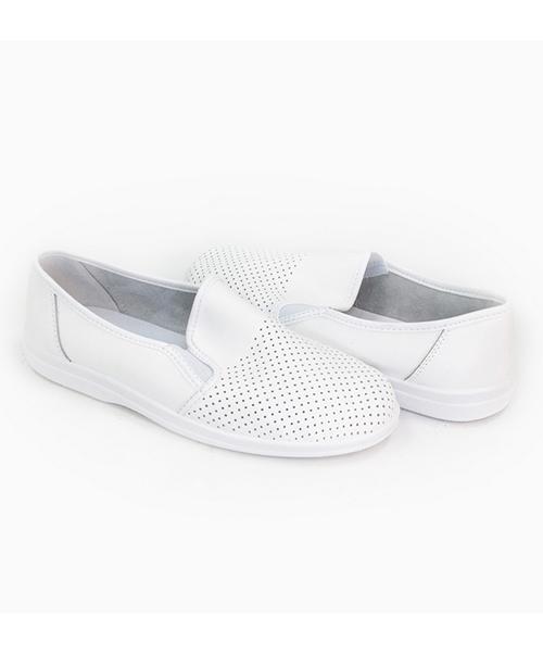 Туфли мужские белые