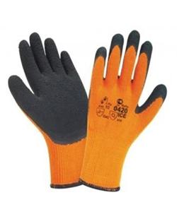 Перчатки из акрила утепленные, с покрытием вспененного латекса «Стекольщик»