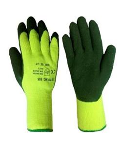 Перчатки из акрила утепленные, с покрытием вспененного латекса «Стекольщик» Люкс