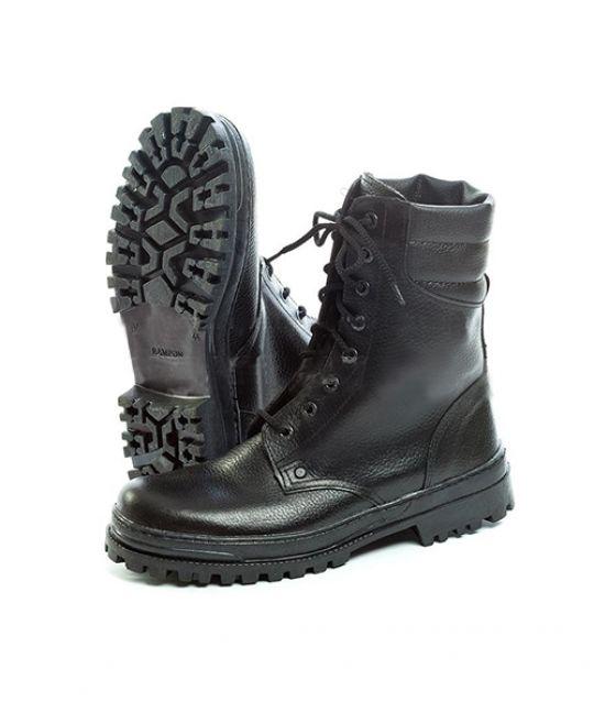 Ботинки рабочие утепленные кожаные Омон