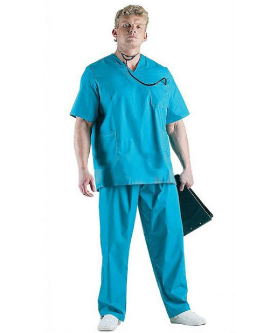 Костюм медицинский хирурга бирюза
