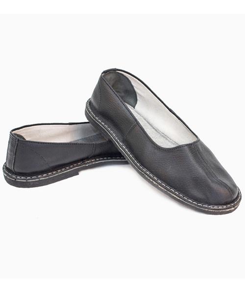 Тапочки (чувяки) кожаные