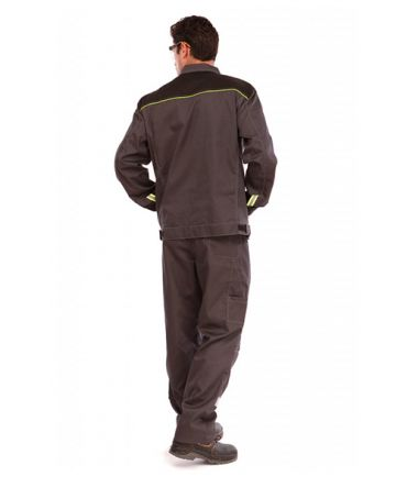 Костюм мужской Профессионал-1 серый/черный