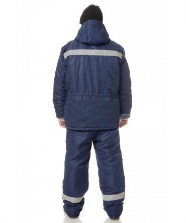 Костюм рабочий утепленный Мастерок синий