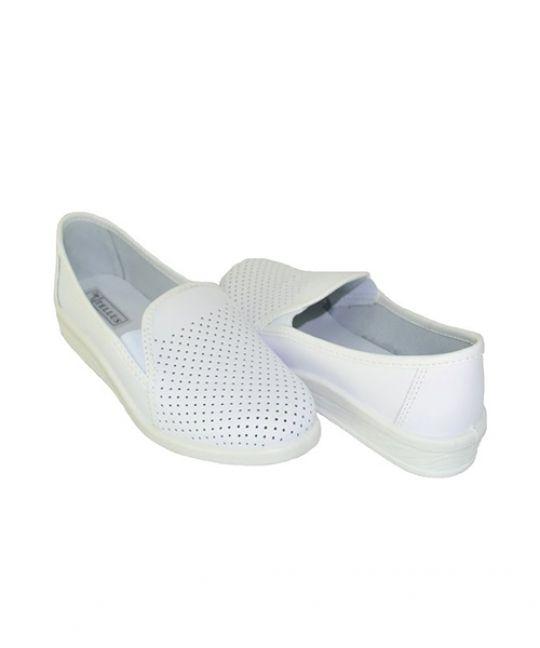 Туфли женские, белые, Молдова