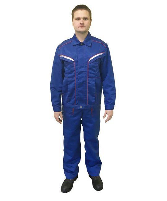 Костюм «Весна», куртка + полукомбинезон, цвет синий